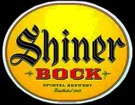 Shiner Bock Beer Bottle Tin Sign