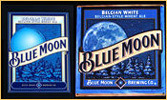 Blue Moon Belgian White Ale NEW Bar Mirror with FREE Tin Sign