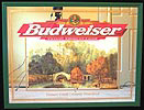 Budweiser Lismore Castle County Waterford Ireland NEW Bar Mirror