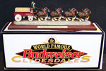 Budweiser Clydesdales Beer Wagon Figurine