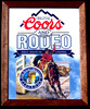Coors Beer Rodeo Bar Mirror