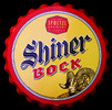 Shiner Bock NEW Bottle Cap 3D Tin Sign