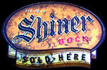 Ice Cold Shiner Bock Beer Sold Here NEW Tin Sign